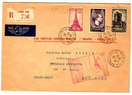53120 -VOL FRANCE  ETATS UNIS  1939 - Eerste Vluchten