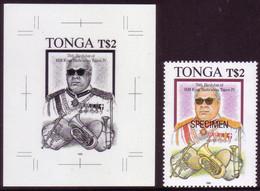Tonga 1993 - Proof + Specimen - King's Love Of Music - Musica