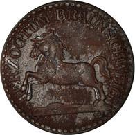 Monnaie, Allemagne, Hertzogtum Braunschweig, 5 Pfennig, 1918, TTB, Iron - Notgeld