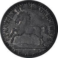 Monnaie, Allemagne, Staatsbank Braunschweig, 10 Pfennig, 1920, TTB, Zinc - Notgeld