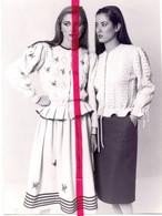Foto Persfoto Photo - Mode Breiwerk - Facile Bij Tina Cerini - 1981 - Non Classificati