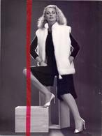 Foto Persfoto Photo - Mode - Jasmin Nerts , Bont - Photo Bob Nieuwenhoff Bruxelles - 1981 - Non Classificati