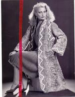 Foto Persfoto Photo - Mode - Swakara , Bont - Photo Bob Nieuwenhoff Bruxelles - 1981 - Non Classificati