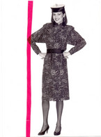 Foto Persfoto Photo - Mode - Robe Kimono Jean Louis Scherrer - Photo JM Scialom - 1981 - Non Classificati