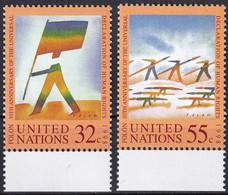 UNO NEW YORK 1998 Mi-Nr. 787/88 ** MNH - Ungebraucht