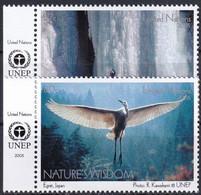 UNO NEW YORK 2005 Mi-Nr. 982/83 ** MNH - Ungebraucht