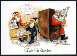 F4353 - A. Krakow Humor Scherzkarte - Weihnachtsmann Santa Claus - Santa Claus