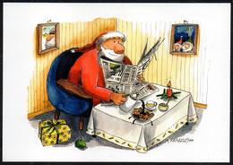 F4354 - A. Krakow Humor Scherzkarte - Weihnachtsmann Santa Claus - Santa Claus