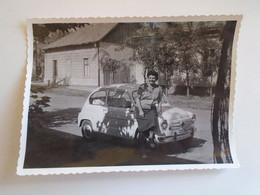 D185029  Old Photo  -  Old Car  Oldtimer Ca 1960's - Automobili