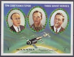 1972 Manama B201b Soyuz 11 - Cosmonauts 9,00 € - Asia