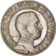 Monnaie, Italie, Vittorio Emanuele III, 2 Lire, 1908, Rome, SUP, Argent, KM:46 - 1900-1946 : Vittorio Emanuele III & Umberto II