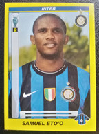 Figurina Calciatori 2010 Panini 2009-10 Samuel Eto'o Inter N 214 - Edizione Italiana