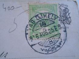 D185034  Old Postcard  -Shadow Play  -Horváth -  Cancel Vágújhely -  Nové Mesto Nad Váhom Slovakia 1916 - Groepen Kinderen En Familie
