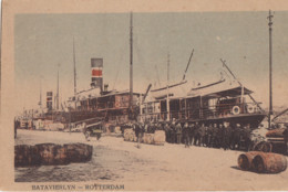 BATAVIERLIJN ROTTERDAM - BATAVIA - Dampfer