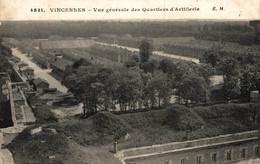 N°86481 -cpa Vincennes -vue Générale Des Quartiers D'artillerie- - Kazerne