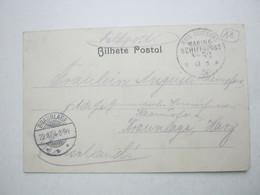 DSW ,   Hereroaufstand , Feldpostkarte Mit Marinestempel No. 52 - Kolonie: Deutsch-Südwestafrika