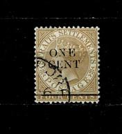 11625- Straits Settlements, Malaya, British Colonies Scott 78 Used - Straits Settlements