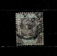 11626- Straits Settlements, Malaya, British Colonies Scott 86 Used - Straits Settlements
