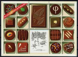 """France 2009 - Vignette Phil@poste """"Le Carré D'Encre"""" - Le Chocolat - Neuf ** - Blocs & Carnets"""