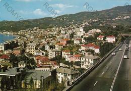 CARTOLINA  VARAZZE,SAVONA,LIGURIA,PANORAMA DA LEVANTE,LUNGOMARE,ESTATE,SPIAGGIA,BELLA ITALIA,STORIA,VIAGGIATA 1981 - Savona