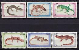 Cuba 1994 / Reptiles MNH Reptilien / Cu1013  31-54 - Non Classificati