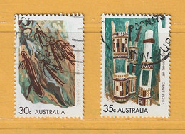Timbre Australie N° 445 - 446 - Used Stamps