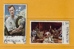 Timbre Australie N° 531 - 533 - Used Stamps