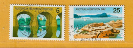 Timbre Australie N° 595 - 596 - Used Stamps