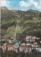 CARTOLINA  S.PELLEGRINO TERME,BERGAMO,LOMBARDIA,SCORCIO PANORAMICO CON VETTA,BELLA ITALIA,CULTURA,VIAGGIATA 1964 - Bergamo