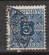 DANMARK Newspaper – Journaux 2 (1907). Gestemp. Oblit. Used. - Used Stamps