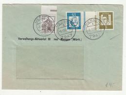 Germany Letter Cover Posted 1966 Mengen Pmk B211015 - Briefe U. Dokumente
