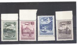 BAU1232 TSCHECHOSLOWAKEI 1951 Michl 678/81 ** Postfrisch ZÄHNING SIEHE ABBILDUNG - Unused Stamps