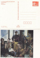 DPP 18/12**  X. Kunstausstellung Der DDR - Ulrich Hachulla - Cafe IV - Privatpostkarten - Ungebraucht