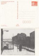 DPP 18/57**  X. Kunstausstellung Der DDR - Ursula Strozynski - Mitropa-Kneipe - Radierung - Privatpostkarten - Ungebraucht