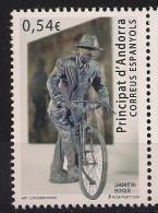 2014 Andorra Esp.  Mi. 414**MNH  Fahrradfahrer Mit Verbundenen Augen - Unused Stamps