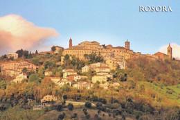 (R619) - ROSORA (Ancona) - Panorama - Ancona