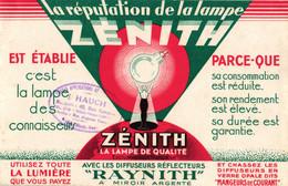 BUVARD LAMPE ZENITH    RAY  HAUTE SAONE - Z