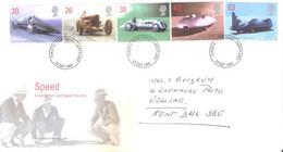 FDC GB - Auto Speed - 1998 - Complete Set - Automobili