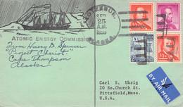 USA - COVER 1959 KOTZEBUE/ALASKA > PITTSFIELD/MASS / QG114 - Covers & Documents