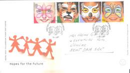 FDC - Hopes For The Future - 2001 - Complete Set - 2001-2010 Dezimalausgaben