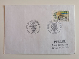 1991..FRANCE..COVER WITH STAMP AND POSTMARKS..The 100th Anniversary Of The School Of Public Works - Briefe U. Dokumente