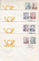 D FDC 1907 - 17 Persönlichkeiten Der Deutschen Arbeiterbewegung, Berlin - FDC: Briefe