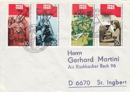 D FDC 2941 - 44  4o. Jahrestag Der Befreiung Vom Faschismus, Pappenheim 6086 - FDC: Briefe