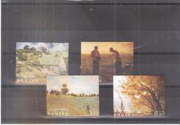 Bhutan - Yv.174/177 - Complete Set - XX/MNH - Bhutan