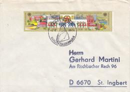 D FDC 3168 - 69  22. Arbeiterfestspiele Der DDR 1988, Pappenheim 6086 - FDC: Briefe