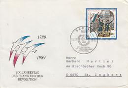D FDC 3260  1789 - 1989 200 Jahre Der Französischen Revolution, Berlin 1085 - FDC: Briefe