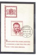 BAU660 TSCHECHOSLOWAKEI 1948 Michl  BLOCK 10 Gestempelt SIEHE ABBILDUNG - Used Stamps