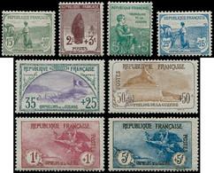 ** FRANCE - Poste - 148/55, Dont 152/55 Signés Calves, TB: Orphelins - Unused Stamps
