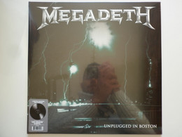 Megadeth 33Tours Vinyle Unplugged In Boston 180 Gram - Non Classificati