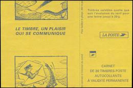 ** FRANCE - Carnets - 3085-C5, Découpe De Couverture à Cheval: Tvp De Luquet (Spink) - Usage Courant